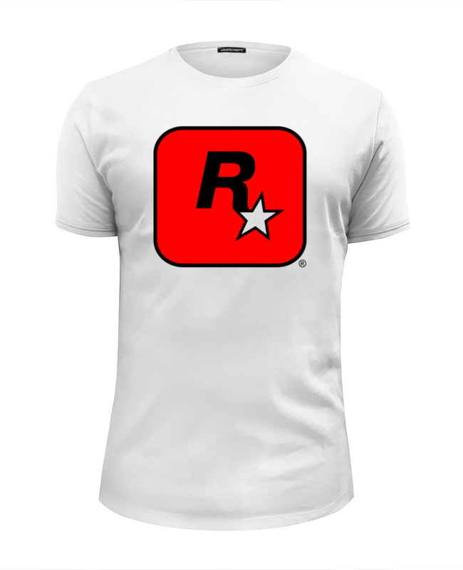 Футболка Wearcraft Premium Slim Fit Printio Rockstar футболка wearcraft premium slim fit printio rockstar light blue