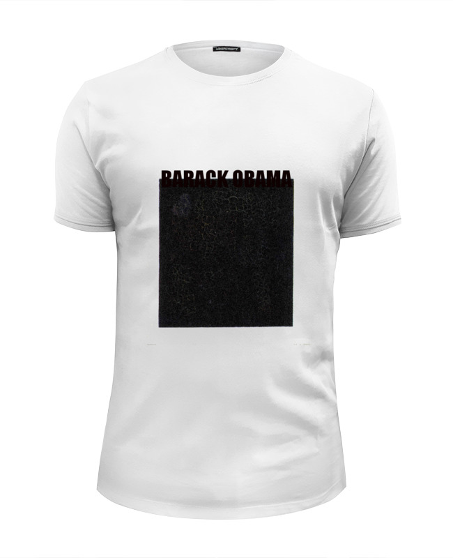 Футболка Wearcraft Premium Slim Fit Printio Barack obama футболка классическая printio barack obama