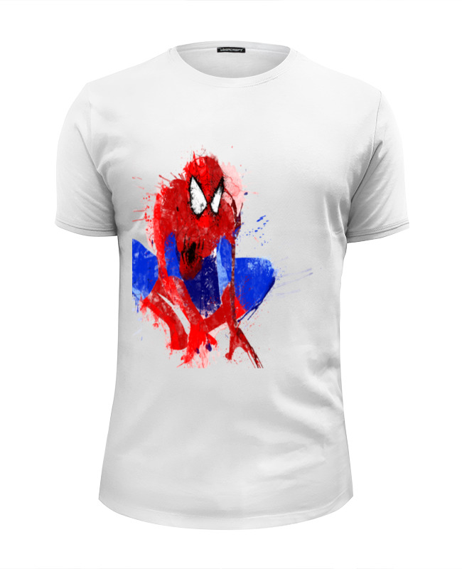 Футболка Wearcraft Premium Slim Fit Printio Spider-man футболка wearcraft premium slim fit printio spider man