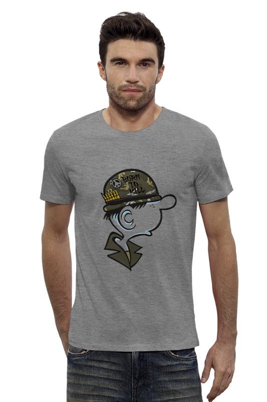 Футболка Wearcraft Premium Slim Fit Printio Born to kill футболка wearcraft premium slim fit printio неизвестный солдат