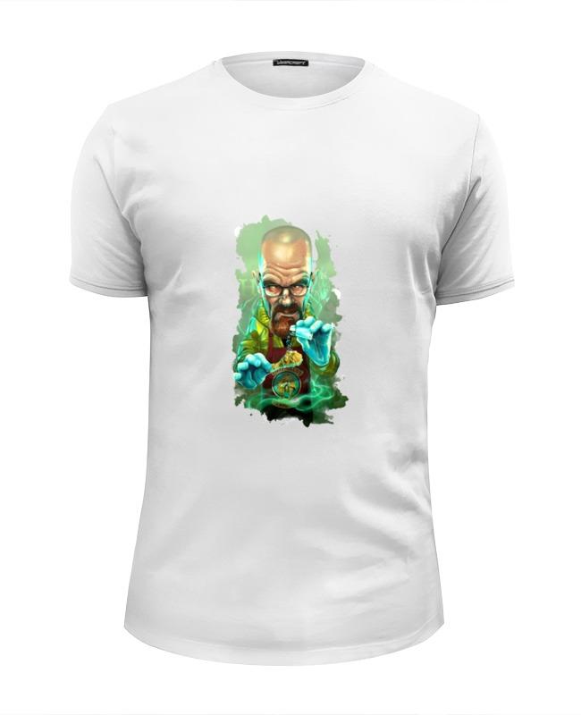 Футболка Wearcraft Premium Slim Fit Printio Во все тяжкие (breaking bad) футболка wearcraft premium slim fit printio граната во все тяжкие