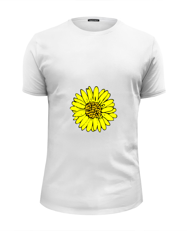 Фото - Футболка Wearcraft Premium Slim Fit Printio Sunflower сумка printio sunflower
