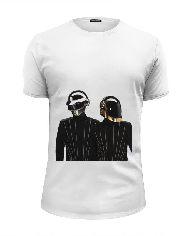 Футболка Wearcraft Premium Slim Fit Printio Daft punk - electoma футболка стрэйч printio daft punk electoma