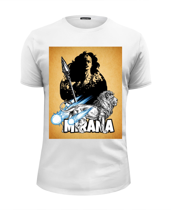 Футболка Wearcraft Premium Slim Fit Printio Dota 2 mirana лонгслив printio dota 2 mirana