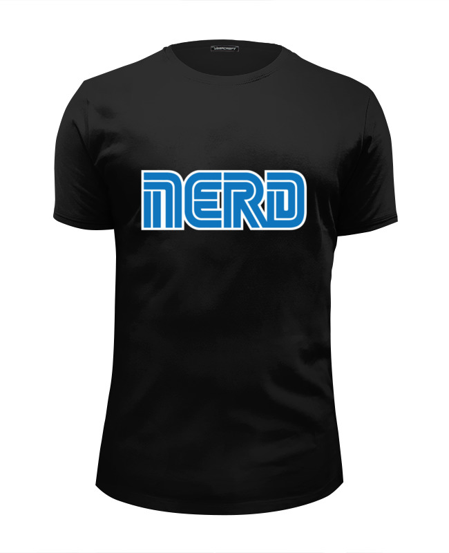 Футболка Wearcraft Premium Slim Fit Printio Nerd (sega) nerd do well