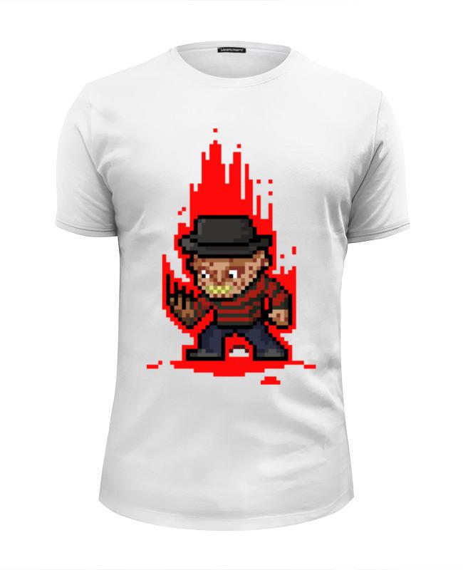 Футболка Wearcraft Premium Slim Fit Printio Freddy krueger (8-bit) футболка print bar freddy krueger uniform