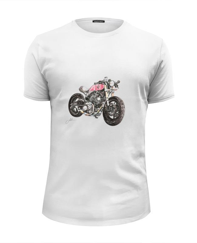 Футболка Wearcraft Premium Slim Fit Printio Мотоцикл