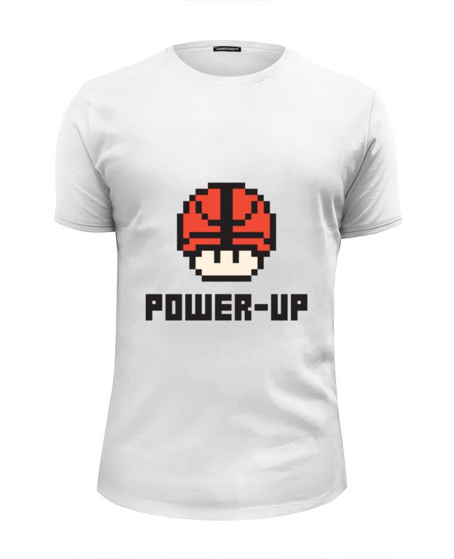 Футболка Wearcraft Premium Slim Fit Printio Гриб марио (баскетбольный мяч) мяч баскетбольный and1 legend