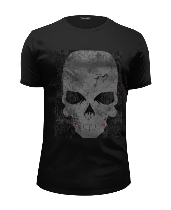 Футболка Wearcraft Premium Slim Fit Printio Grunge skull футболка wearcraft premium slim fit printio grunge bob