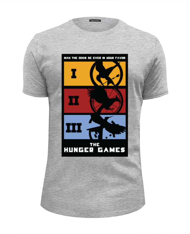 Футболка Wearcraft Premium Slim Fit Printio Голодные игры (the hunger games) go games the sudoku challenge