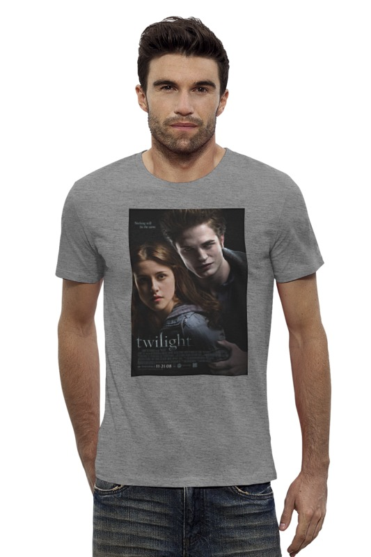 Футболка Wearcraft Premium Slim Fit Printio The twilight saga / сумерки fanpire the twilight saga and the women who love it