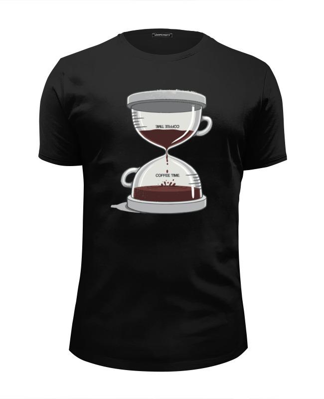 Футболка Wearcraft Premium Slim Fit Printio Coffee time / время кофе футболка wearcraft premium slim fit printio drink coffee