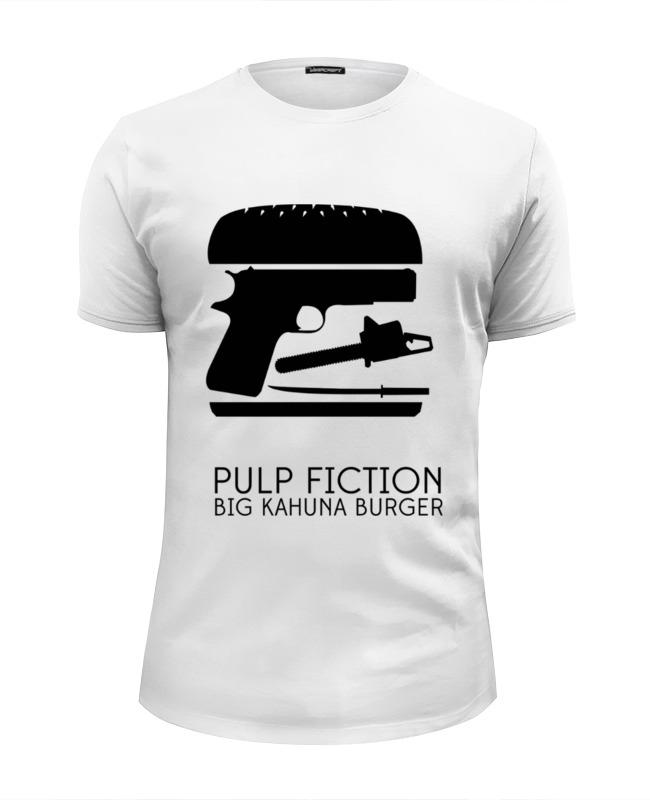 Футболка Wearcraft Premium Slim Fit Printio Криминальное чтиво (pulp fiction) кружка printio криминальное чтиво pulp fiction
