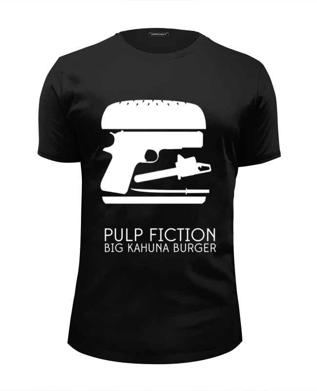 Футболка Wearcraft Premium Slim Fit Printio Криминальное чтиво (pulp fiction) кружка printio криминальное чтиво pulp fiction