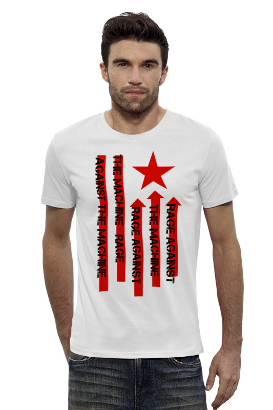 Футболка Wearcraft Premium Slim Fit Printio Rage against the machine rage against the machine maximum rage the unauthorised biography of rage against the machine page 7