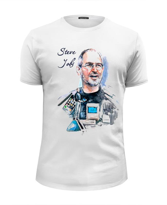 Футболка Wearcraft Premium Slim Fit Printio Стив джобс футболка wearcraft premium slim fit printio стив джобс