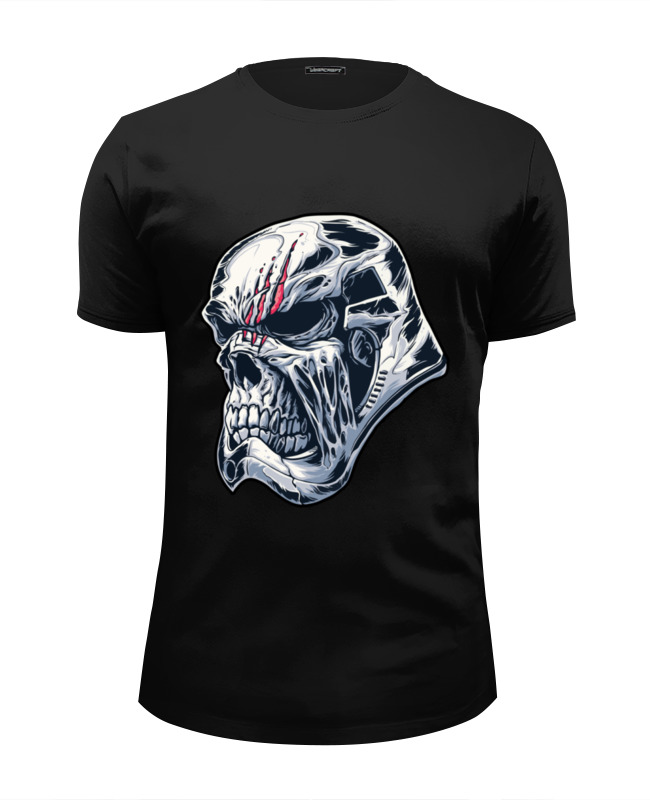Футболка Wearcraft Premium Slim Fit Printio Star wars undead stormtrooper / штурмовик футболка wearcraft premium printio мой голливуд undead
