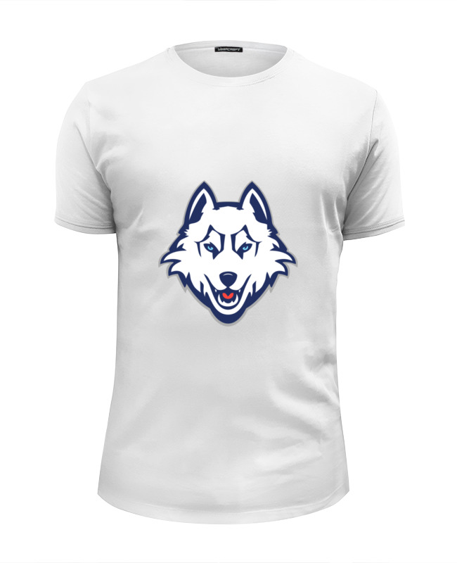 Футболка Wearcraft Premium Slim Fit Printio Волк (wolf)