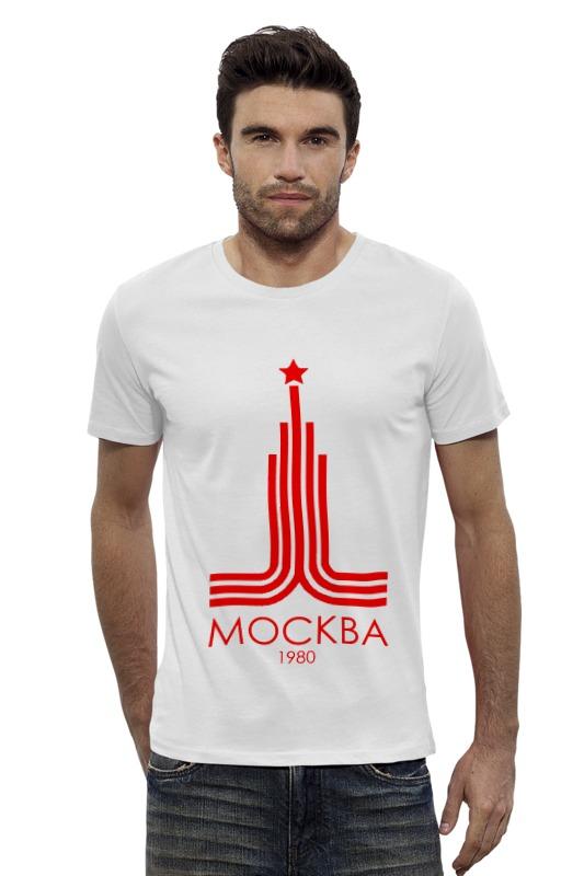 Футболка Wearcraft Premium Slim Fit Printio Москва литературная москва 100 лет назад