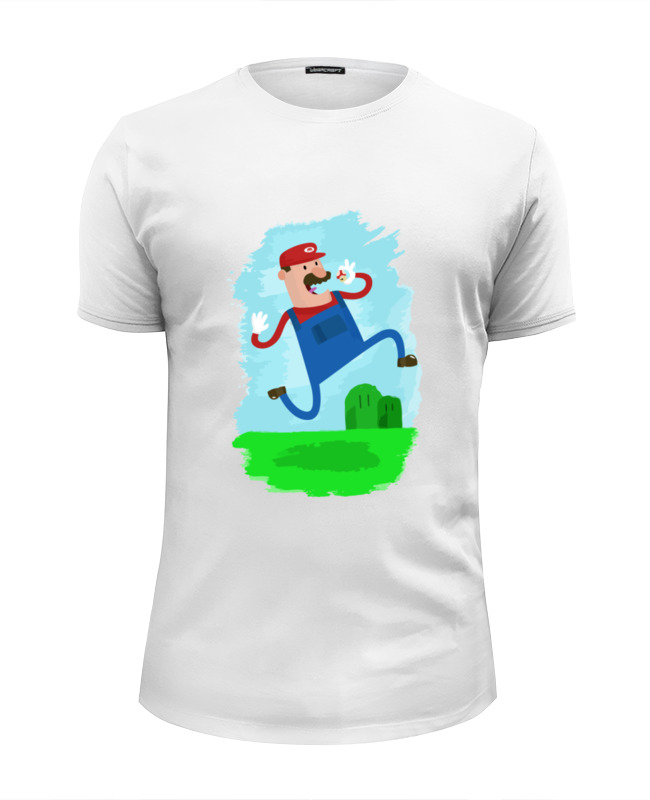 Printio Марио (mario) футболка wearcraft premium slim fit printio minion mario