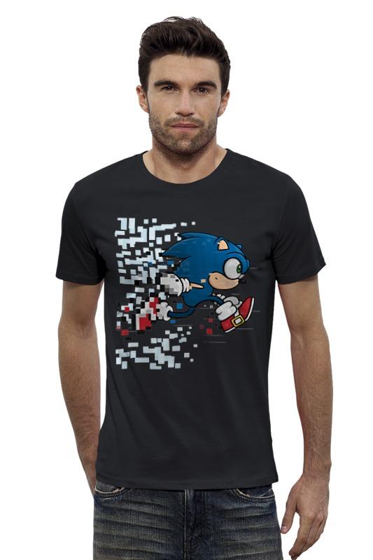 Футболка Wearcraft Premium Slim Fit Printio Соник (sonic) футболка классическая printio соник