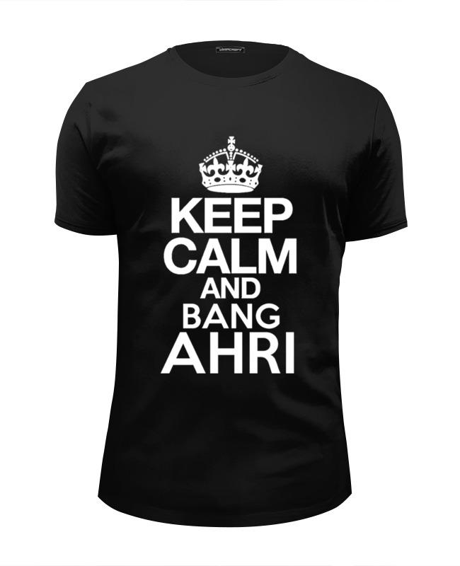 Футболка Wearcraft Premium Slim Fit Printio Keep calm футболка wearcraft premium slim fit printio keep calm by kkaravaev ru