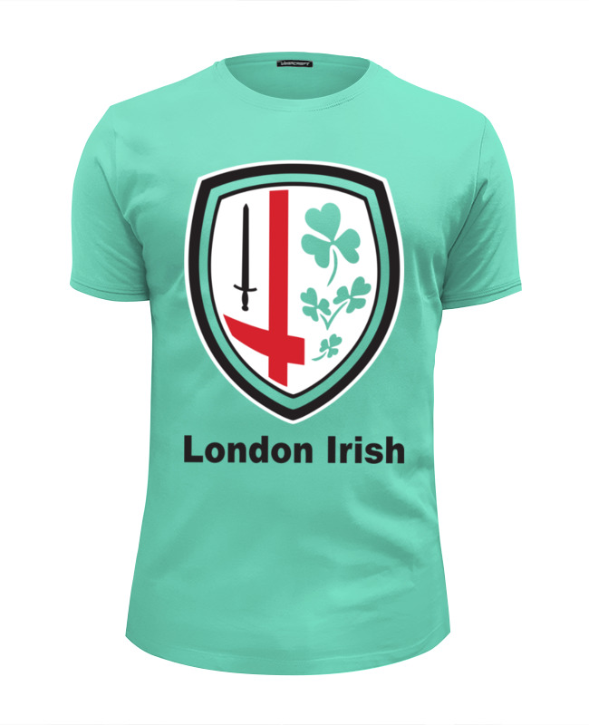 Футболка Wearcraft Premium Slim Fit Printio London irish цены