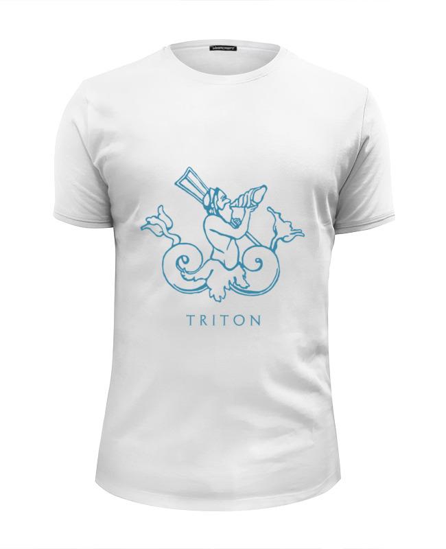 Футболка Wearcraft Premium Slim Fit Printio Тритон