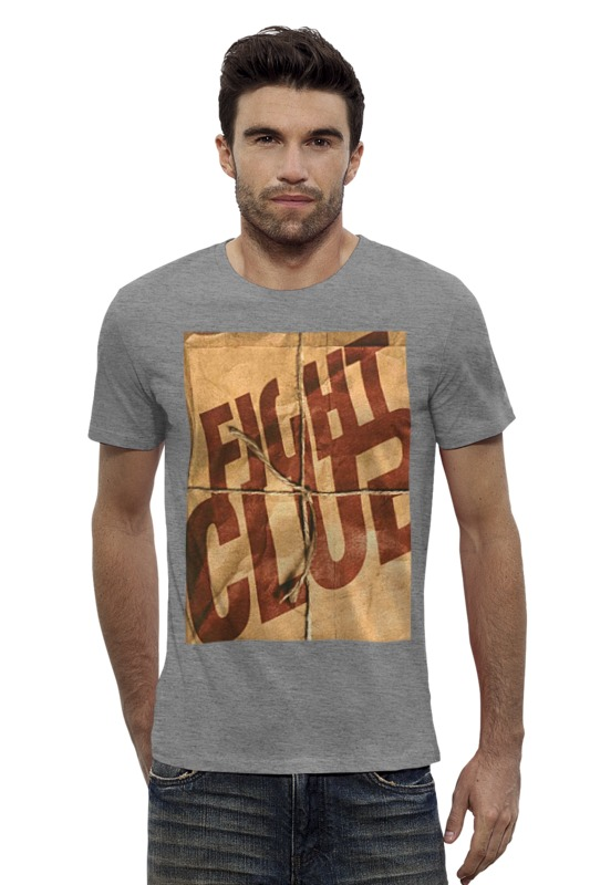 Футболка Wearcraft Premium Slim Fit Printio Fight club / бойцовский клуб футболка wearcraft premium printio бойцовский клуб fight club