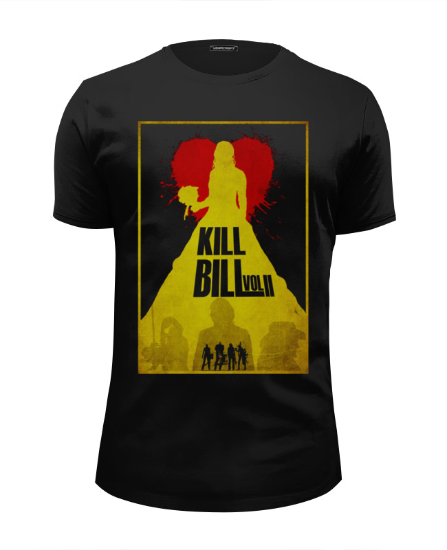 Футболка Wearcraft Premium Slim Fit Printio Kill bill 2 футболка wearcraft premium printio убить билла kill bill