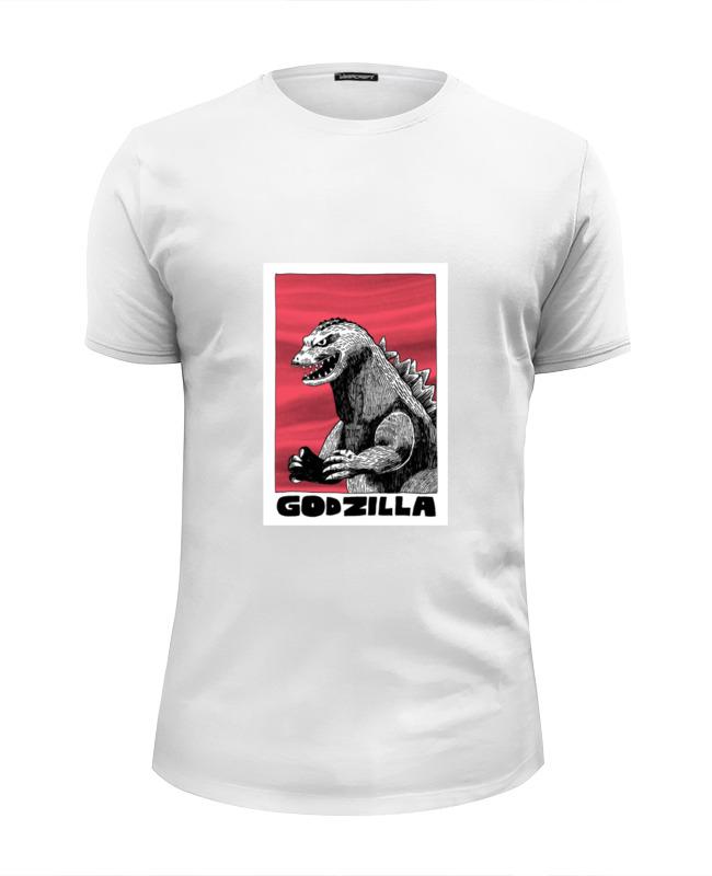 Футболка Wearcraft Premium Slim Fit Printio Godzilla