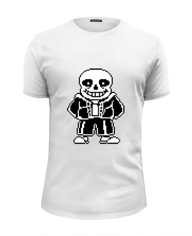 Фото - Printio Санс (undertale) футболка wearcraft premium slim fit printio флауи undertale