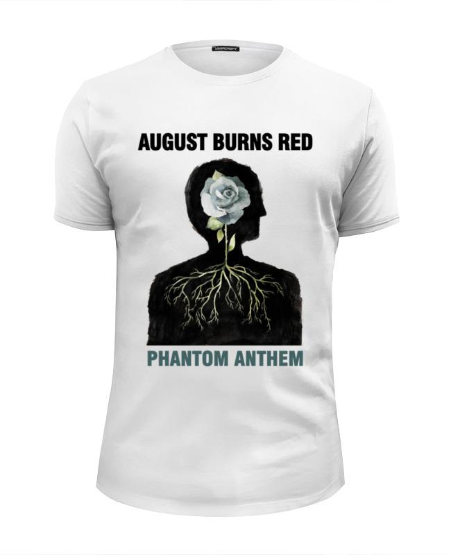 Футболка Wearcraft Premium Slim Fit Printio August burns red