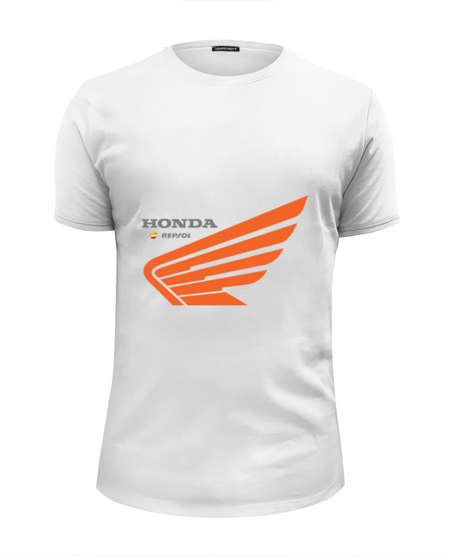 Футболка Wearcraft Premium Slim Fit Printio Honda repsol