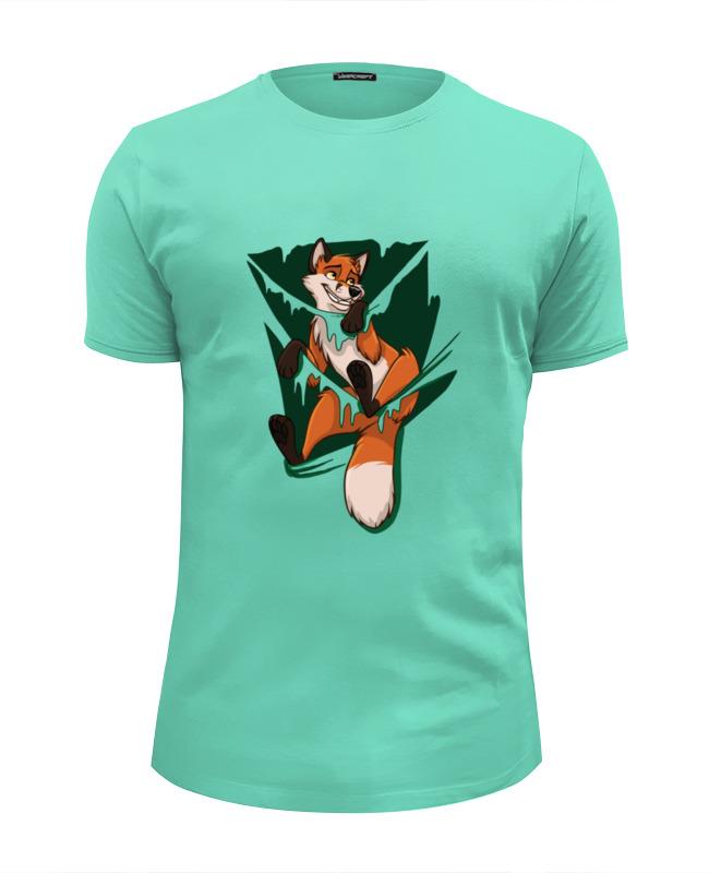 Футболка Wearcraft Premium Slim Fit Printio Лисичка (fox) футболка классическая printio лисичка fox