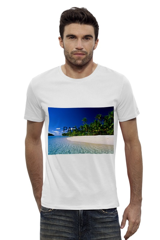 Футболка Wearcraft Premium Slim Fit Printio Paradise футболка wearcraft premium printio pain cynic paradise