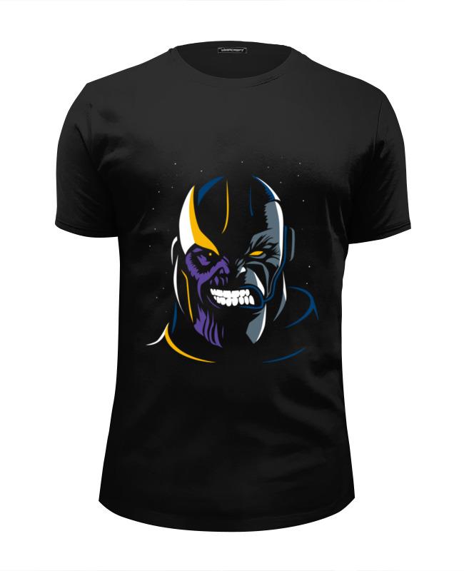 Футболка Wearcraft Premium Slim Fit Printio Танос футболка wearcraft premium slim fit printio spider man