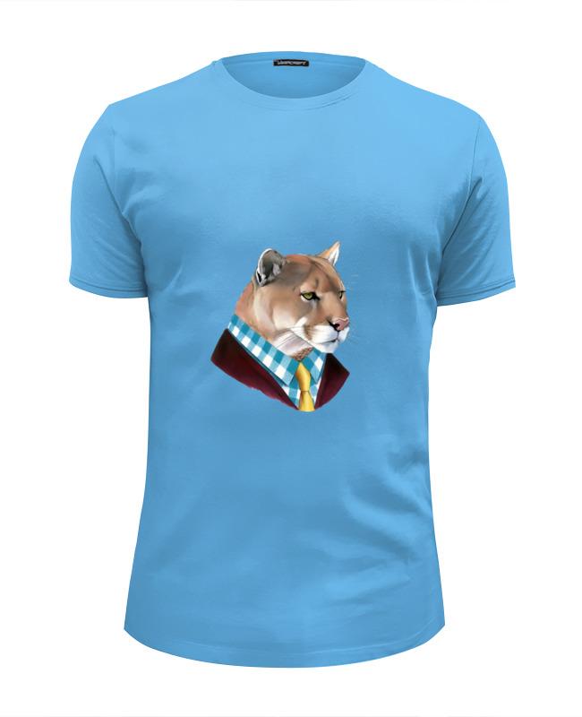 Футболка Wearcraft Premium Slim Fit Printio Мудрый лев лонгслив printio мудрый лев