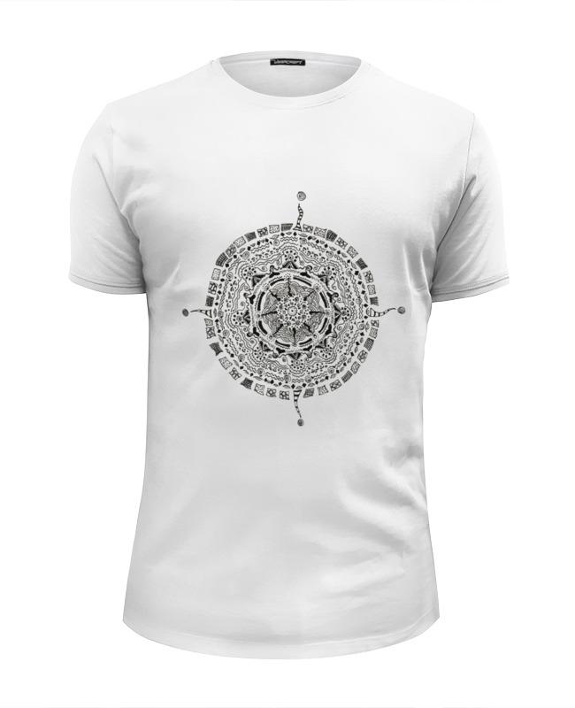 Футболка Wearcraft Premium Slim Fit Printio Мандала футболка wearcraft premium printio кирби попстар мандала