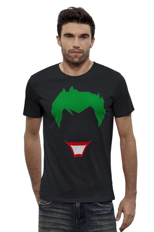Футболка Wearcraft Premium Slim Fit Printio Joker (джокер) футболка wearcraft premium slim fit printio joker