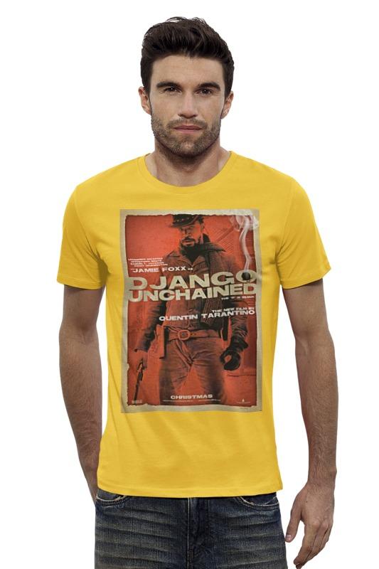 Футболка Wearcraft Premium Slim Fit Printio Django unchained - jame foxx cd диск django reinhardt souvenirs de django reinhardt 1 cd