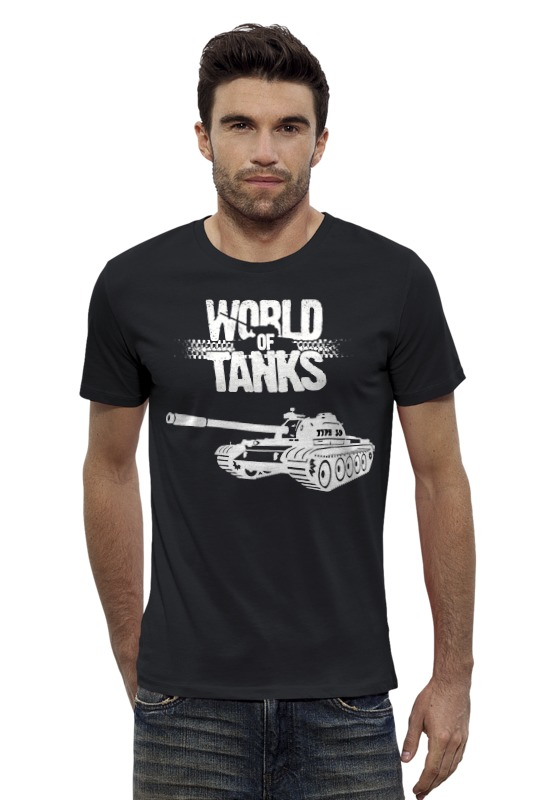 Футболка Wearcraft Premium Slim Fit Printio World of tanks - type 59 type 59 когда можно
