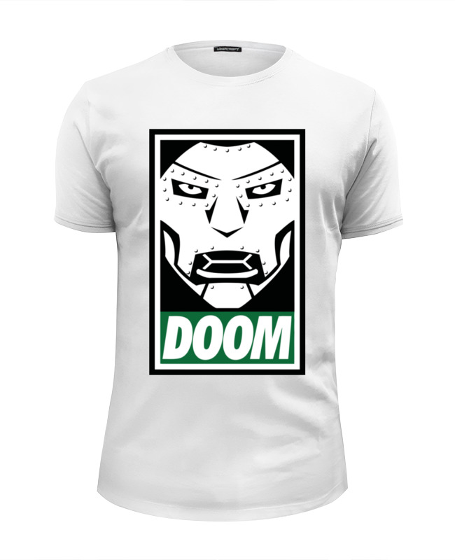 Футболка Wearcraft Premium Slim Fit Printio Доктор дум (doctor doom) все цены