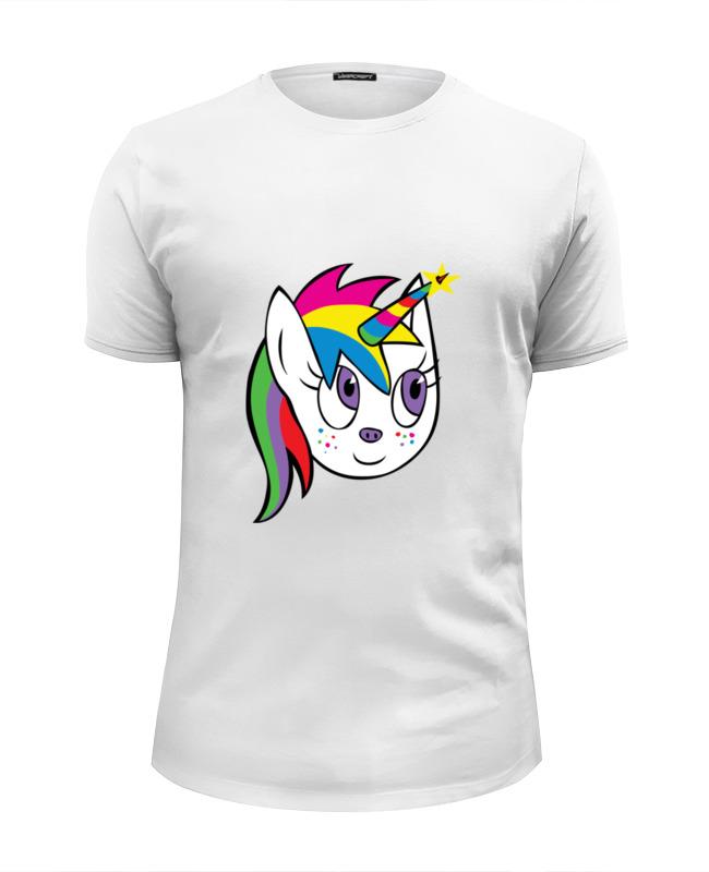 Футболка Wearcraft Premium Slim Fit Printio Единорог (unicorn) футболка wearcraft premium slim fit printio единорог