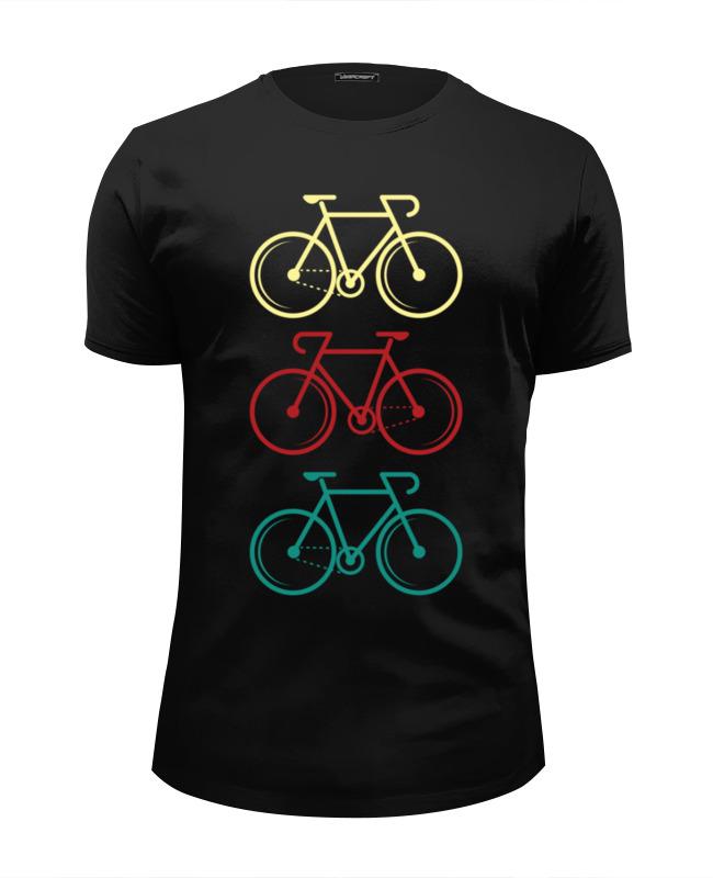 Футболка Wearcraft Premium Slim Fit Printio Велосипеды велосипеды