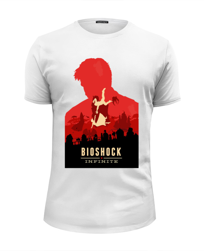 Футболка Wearcraft Premium Slim Fit Printio Bioshock infinite bioshock infinite season pass [pc цифровая версия] цифровая версия