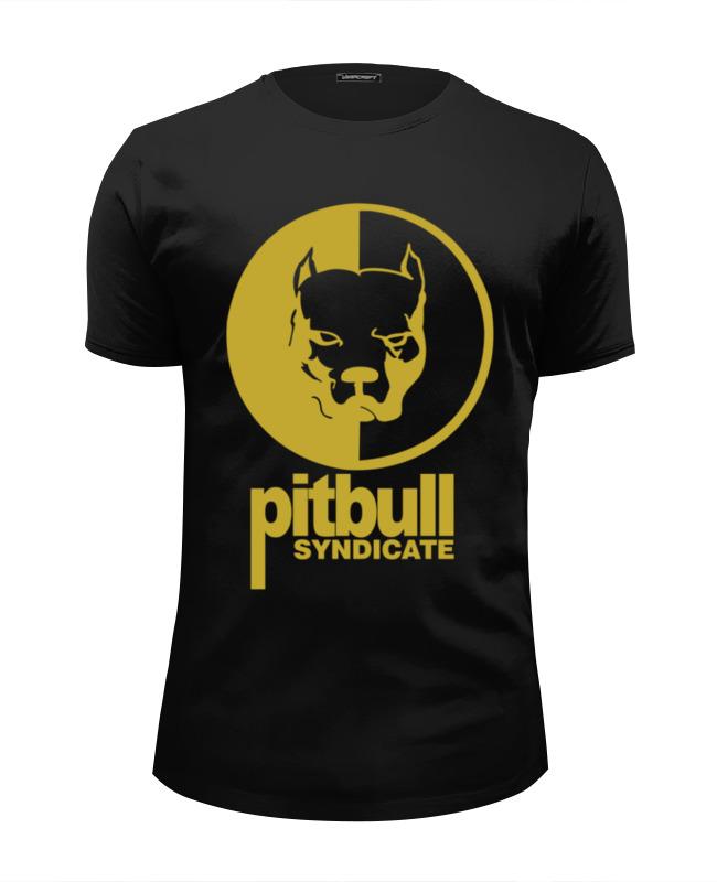 Футболка Wearcraft Premium Slim Fit Printio Pitbull syndicate футболка wearcraft premium printio pitbull syndicate