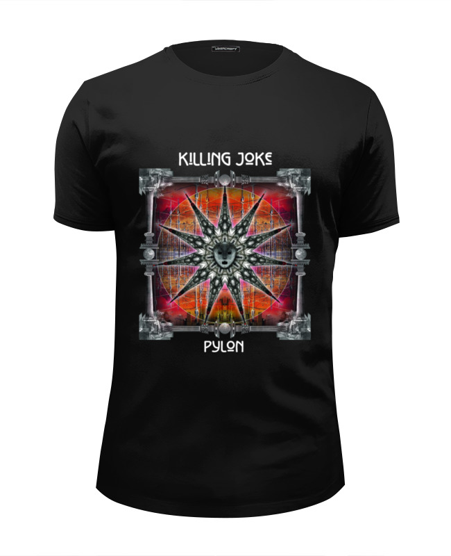 Футболка Wearcraft Premium Slim Fit Printio Killing joke / pylon