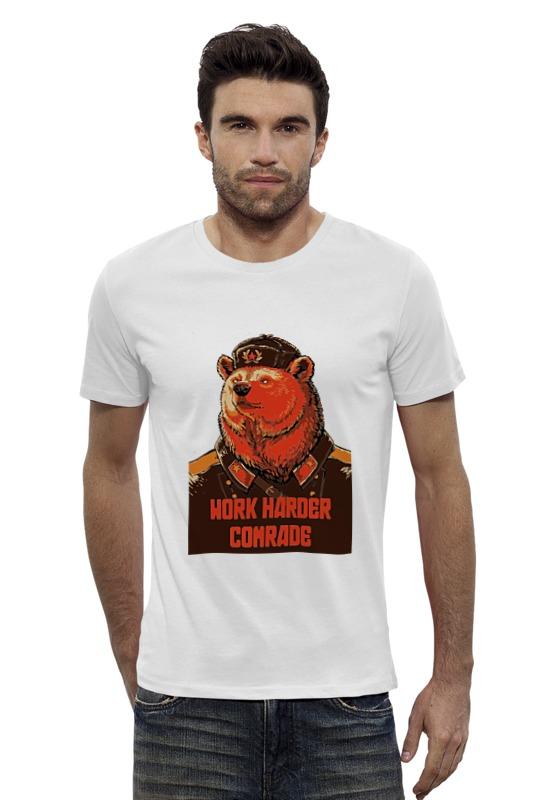 Футболка Wearcraft Premium Slim Fit Printio Comrade comrade r6