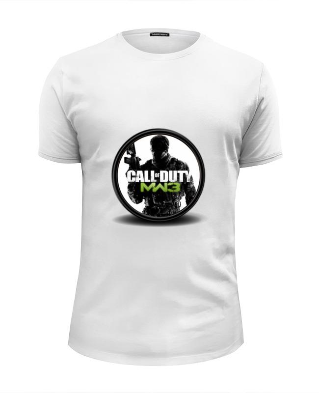 Футболка Wearcraft Premium Slim Fit Printio Call of duty футболка классическая printio call of duty